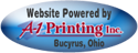This site powered by A-1 Printing